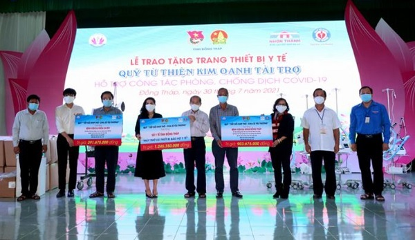 """Quỹ từ thiện Kim Oanh: Dồn dập """"Tiếp nối nhịp thở - chia sẻ yêu thương!"""""""