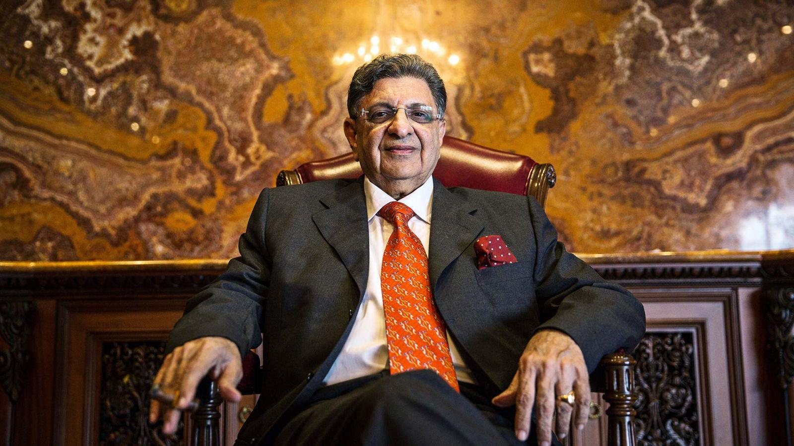 Cyrus Poonawalla - chủ tịch Viện Huyết thanh của Ấn Độ - ở Pune, Maharashtra, Ấn Độ, vào thứ Hai, ngày 4 tháng 5 năm 2015 (BLOOMBERG).