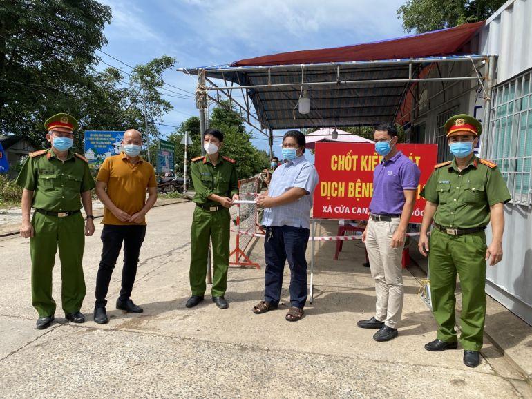 Câu lạc bộ doanh nghiệp đồng hành đảm bảo an ninh trật tự thành phố Phú Quốc chung tay chống dịch Covid-19