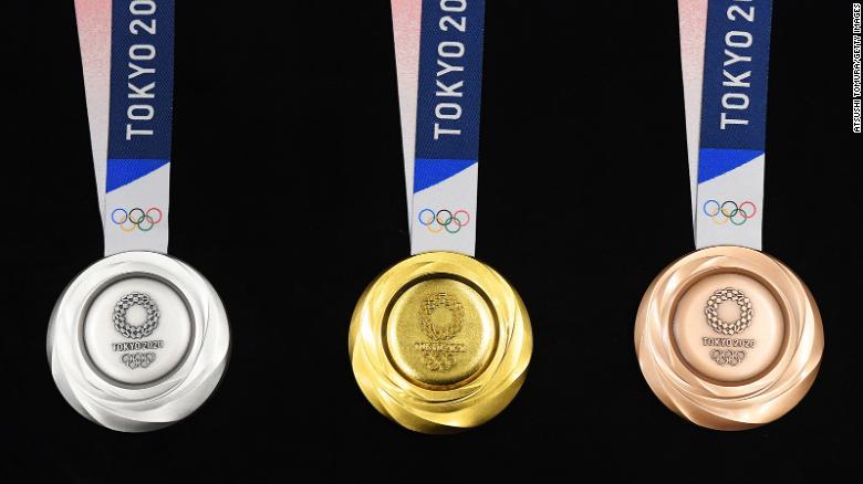 Huy chương tại Olymic Tokyo
