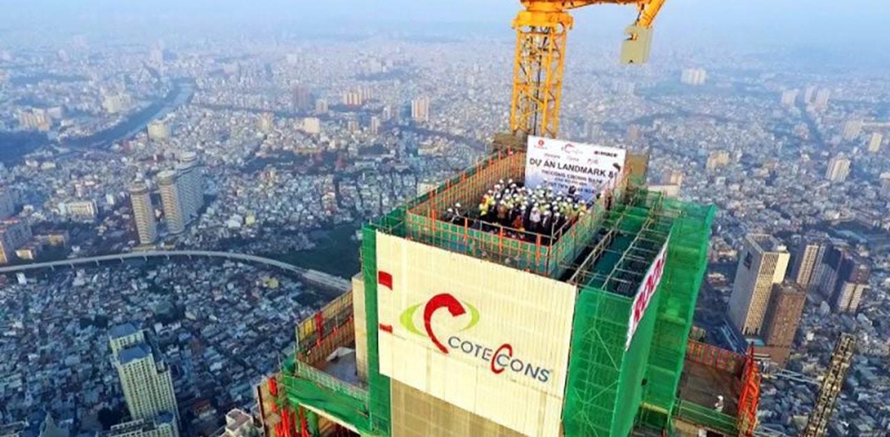 Doanh thu thuần của Xây dựng Coteccons đạt hơn 2.550 tỷ đồng