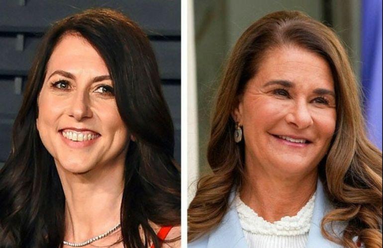 Mackenzie và Melinda, những nữ tỷ phú từ thiện sáng giá hậu ly hôn