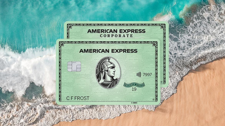 Thẻ tín dụng xanh làm từ nhựa biển của American Express