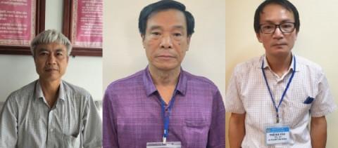"""Khởi tố, bắt tạm giam ba cựu lãnh đạo """"chóp bu"""" của Tổng Công ty xây dựng Công trình Giao thông 1"""