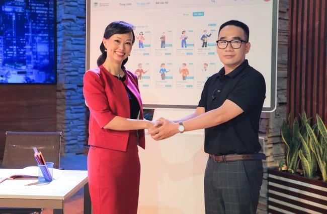 Shark Linh quyết định đầu tư cho Edubox. Nguồn: Internet