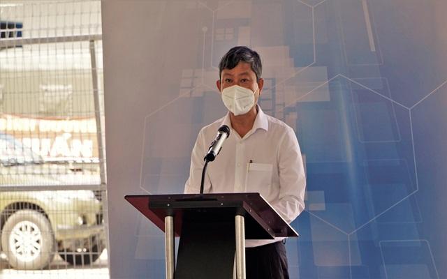 ông Võ Văn Minh, Phó bí thư tỉnh ủy, Chủ tịch UBND tỉnh, Phó trưởng ban thường trực ban chỉ đạo phòng chống dịch Covid-19