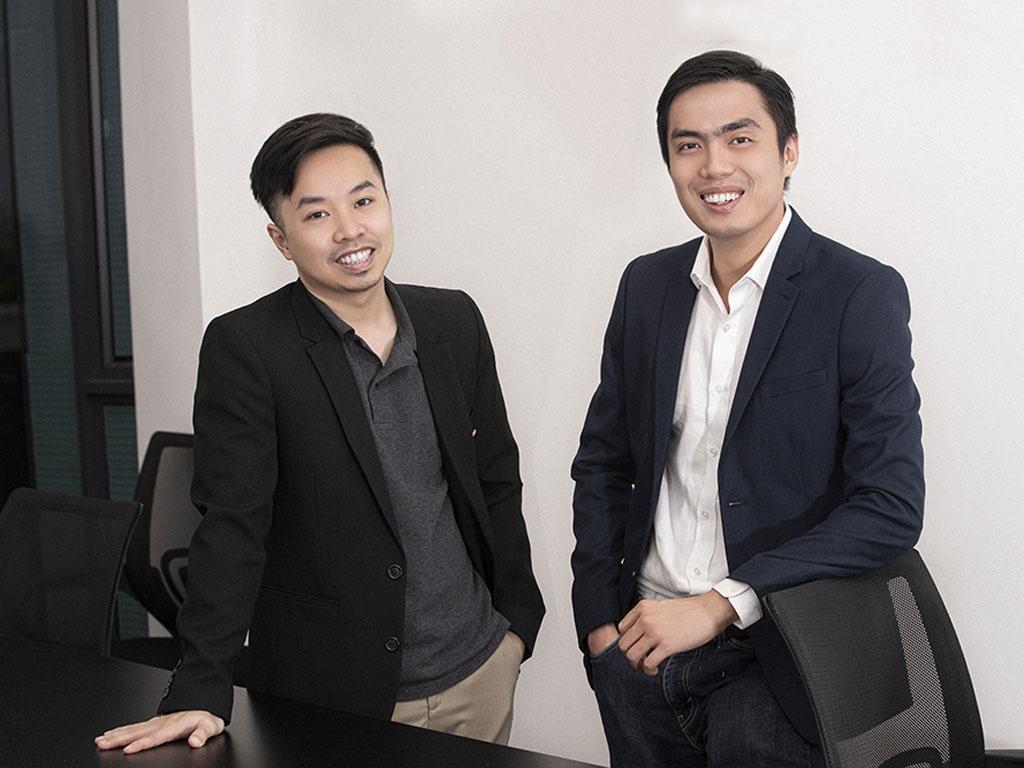 CEO KardiaChain Trí Phạm (trái) và CTO KardiaChain Huy Nguyễn (phải). Nguồn ảnh: Internet