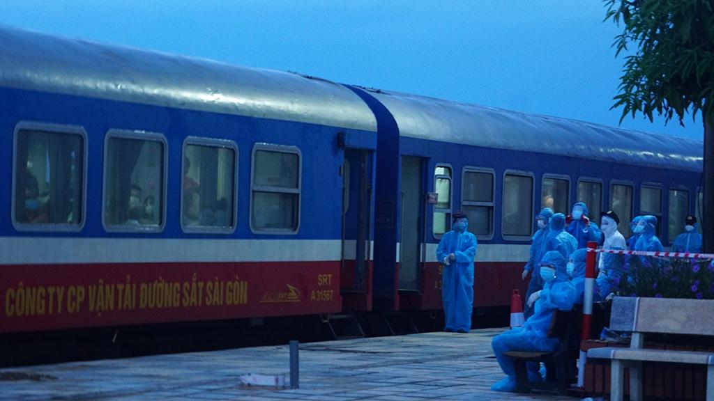 Hà Tĩnh phát hiện thêm 7 ca nhiễm Covid-19 trên chuyến tàu về từ TP Hồ Chí Minh