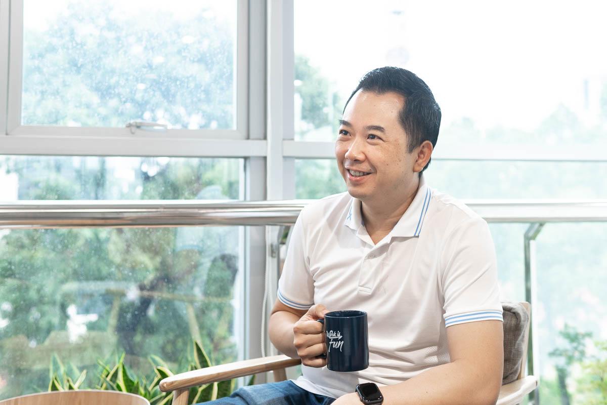 CEO Infina James Vương: Đầu tư từ nguồn vốn nhỏ và linh hoạt có thể là một bước đệm lớn cho thói quen tiết kiệm lâu dài. Nguồn: Internet