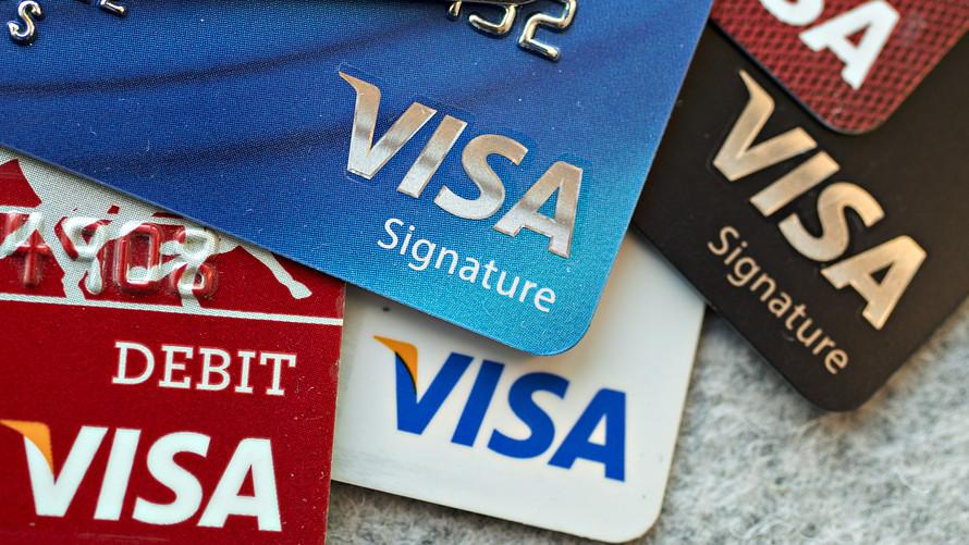 Những tấm thẻ của VISA đã rất quen thuộc với người dùng thế giới