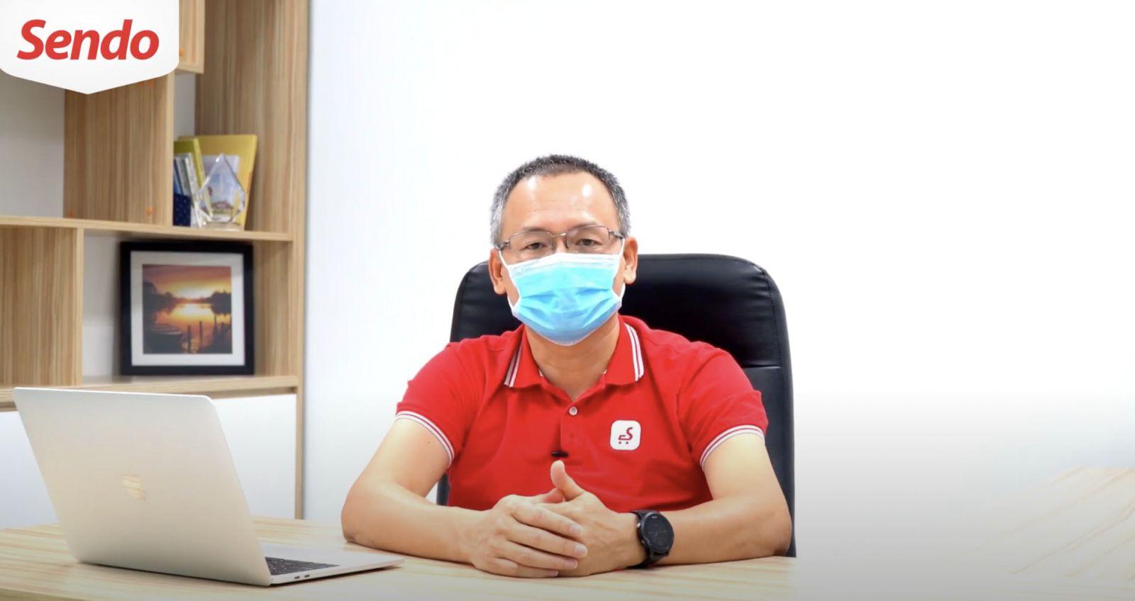 Ông Nguyễn Đắc Việt Dũng - Chủ tịch HĐQT Sendo