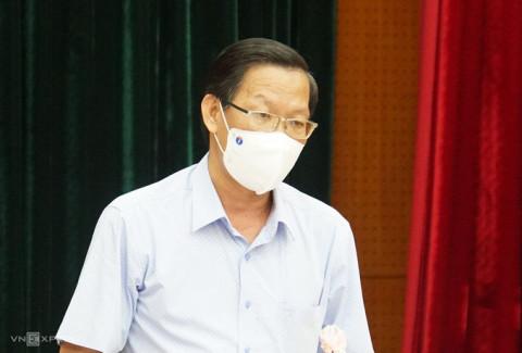 Phó Bí thư Thường trực Thành ủy TP.HCM Phan Văn Mãi: 'F0 nặng, tử vong là vấn đề của TP.HCM hiện nay'
