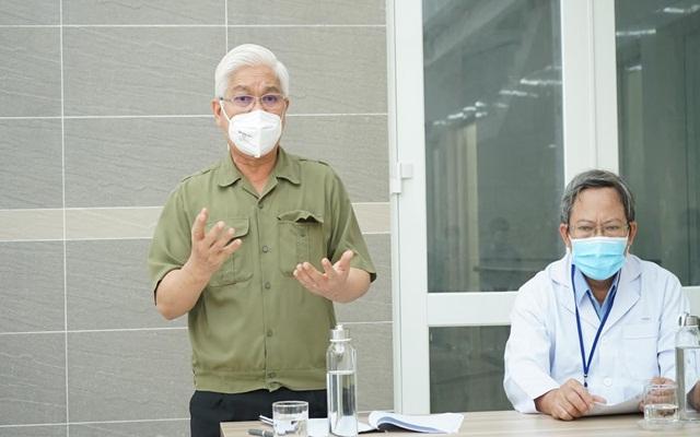 ông Nguyễn Văn Lợi yêu cầu cùng huyện Bắc Tân Uyên cần tập trung triển khai các biện pháp trong công tác phòng chống dịch covid-19