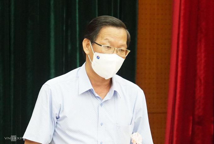 Phó Bí thư Thường trực Thành ủy TP HCM Phan Văn Mãi