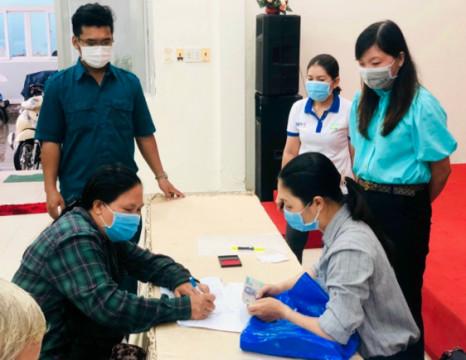 Phú Quốc kịp thời hỗ trợ cho người lao động gặp khó khăn do dịch bệnh Covid-19