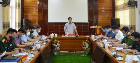 Chủ tịch UBND tỉnh Phú Thọ kiểm tra công tác phòng, chống dịch tại hai huyện Hạ Hòa và Cẩm Khê