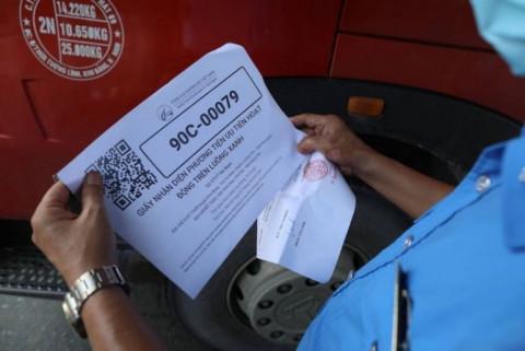 Bạc Liêu: cấp mã QR code cho các phương tiện