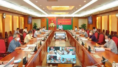 Toàn văn Thông cáo báo chí Kỳ họp thứ năm của Ủy ban Kiểm tra Trung ương