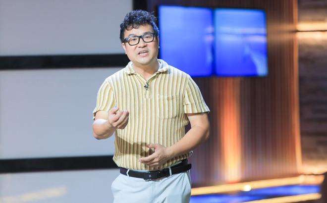 Chân dung Vũ Trung Kiên nhà sáng lập startup bán bộ cờ vua 40 triệu đồng trên Shark Tank. Nguồn: Internet