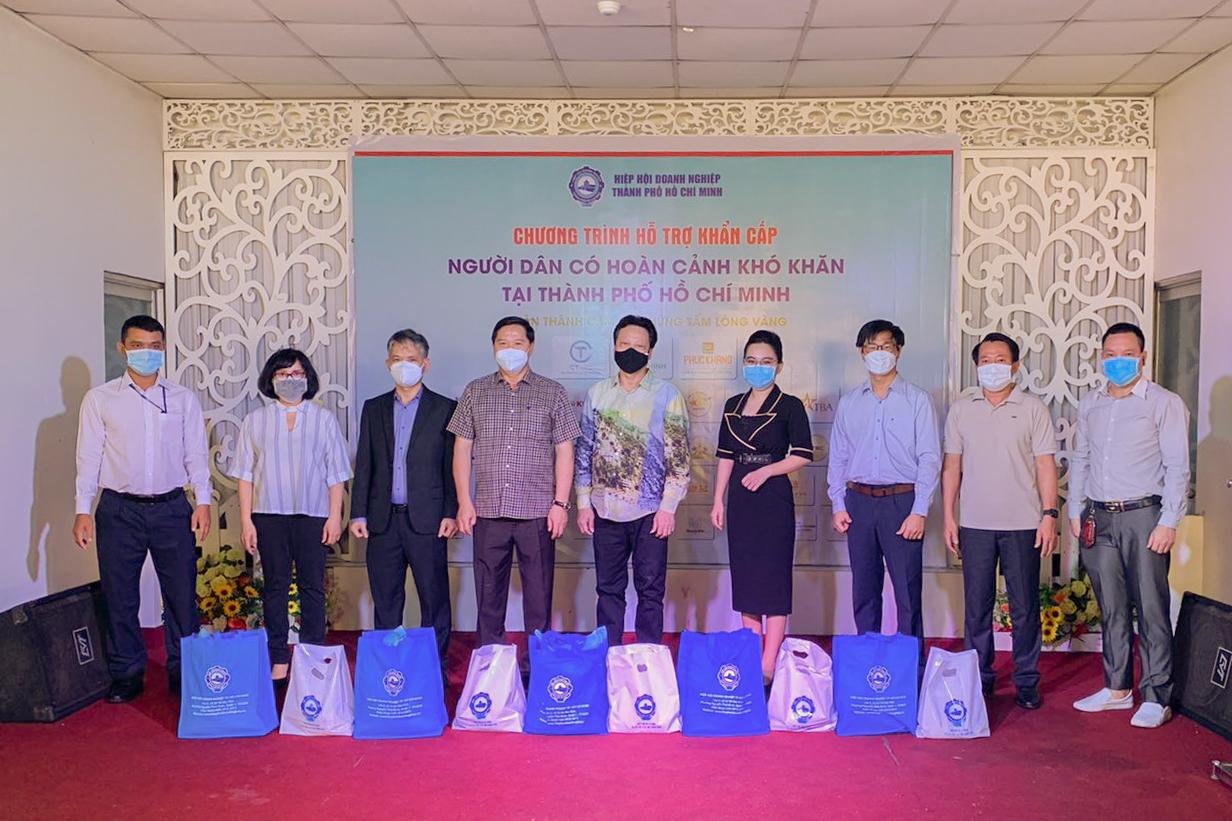 Thông qua Hiệp hội Doanh nghiệp TP.HCM (Huba), Tập đoàn Hưng Thịnh đã ủng hộ 3 tỷ đồng (tương đương 10.000 phần quà) chung tay cùng nhiều doanh nghiệp khác hỗ trợ khẩn cấp cho người dân khó khăn tại TP.HCM