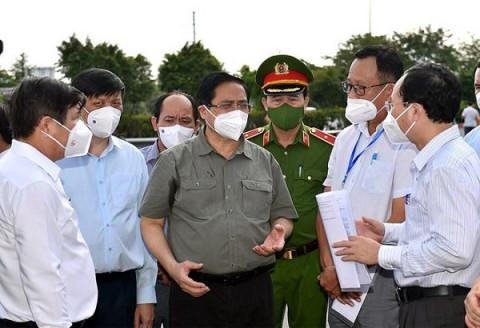 Thủ tướng phân công nhiệm vụ trong chỉ đạo, điều hành công tác phòng, chống dịch COVID-19