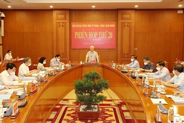 Ban Chỉ đạo Trung ương về PCTN yêu cầu khẩn trương đưa 5 đại án về tham nhũng, kinh tế ra xét xử