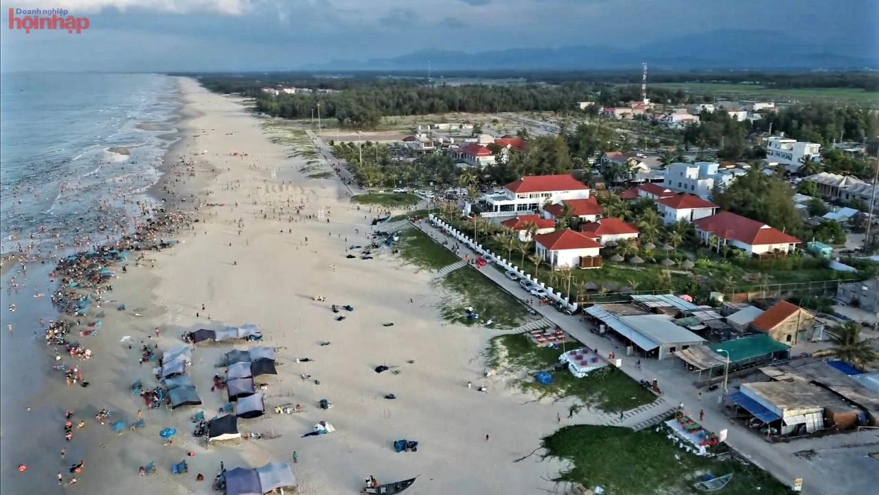 Với đường bờ biển dài khoảng 125 km, Quảng Nam được các tập đoàn lớn quan tâm