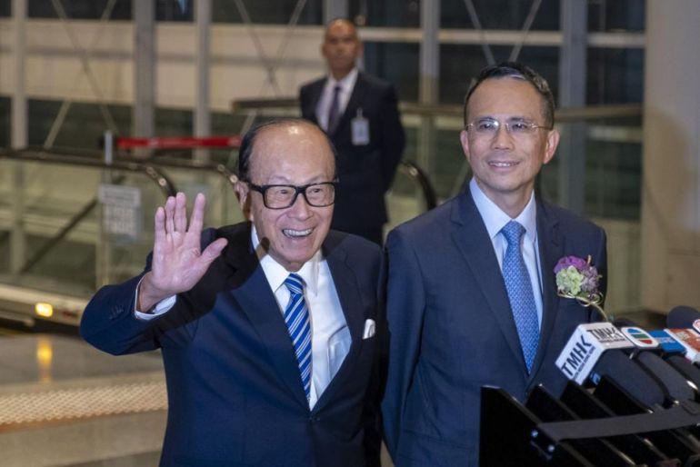 Các lĩnh vực kinh doanh chính của tỷ phú Li Ka-Shing công bố lợi nhuận tăng 41% trong nửa đầu năm 2021