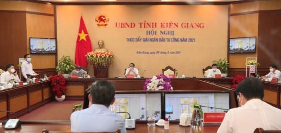 Kiên Giang: Phấn đấu đến tháng 9 giải ngân 60% vốn đầu tư công năm 2021