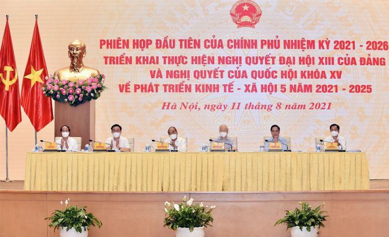 """Tổng Bí thư: Để đất nước phát triển nhanh và bền vững, Chính phủ cần xử lý """"điểm nghẽn"""""""