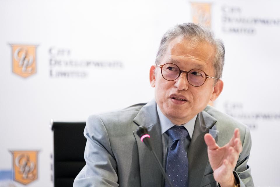 Kwek Leng Beng, chủ tịch của City Developments, phát biểu trong một cuộc họp báo ở Singapore, vào ngày 11 tháng 8 năm 2017 (Nguồn: BLOOMBERG).