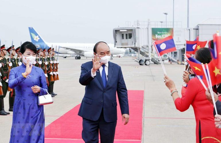 Chuyến thăm Lào của Chủ tịch nước Nguyễn Xuân Phúc đạt nhiều kết quả thực chất và toàn diện