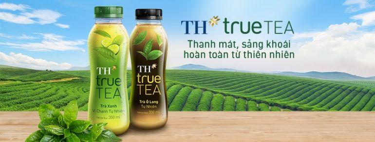Ra mắt sản phẩm Trà tự nhiên TH true TEA