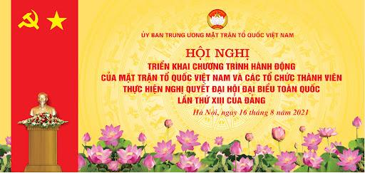 Hội nghị toàn quốc triển khai Chương trình hành động của MTTQ Việt Nam thực hiện Nghị quyết Đại hội XIII của Đảng