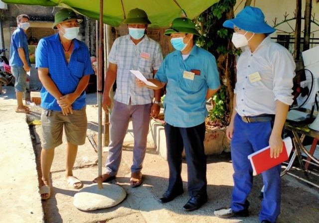 Quỳnh Lưu (Nghệ An): Kiểm tra công tác phòng, chống dịch Covid-19 tại Cảng cá Lạch Quèn