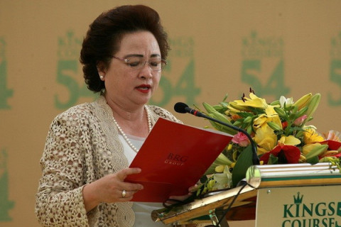 Madame Nguyễn Thị Nga - Chủ tịch Tập đoàn BRG lần thứ 6 liên tiếp được vinh danh người có tầm ảnh hưởng nhất châu Á trong lĩnh vực Golf