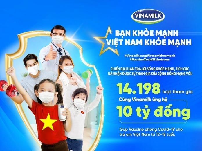 Chuỗi hoạt động giai đoạn 1 của chiến dịch 'Bạn khỏe mạnh, Việt Nam khỏe mạnh' chạm đích với những con số ấn tượng