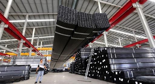 Chứng khoán Rồng Việt dự báo xuất khẩu thép tiếp tục tăng trưởng