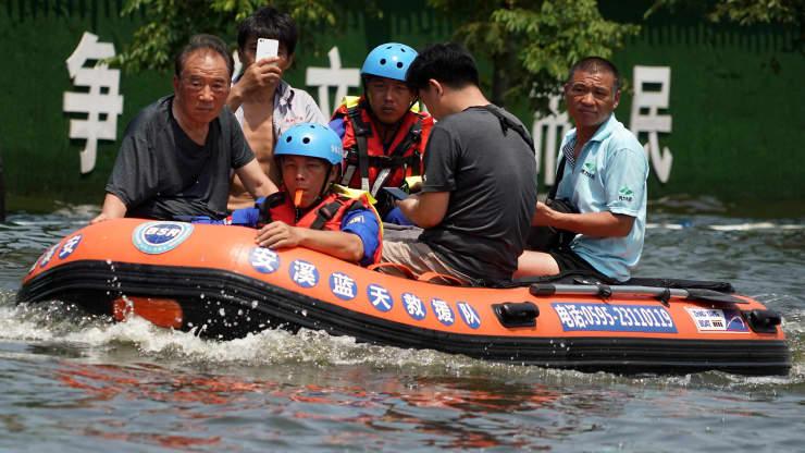 Ngành bảo hiểm Trung Quốc lộ rõ yếu kém trước liên hoàn các hiện tượng thời tiết cực đoan