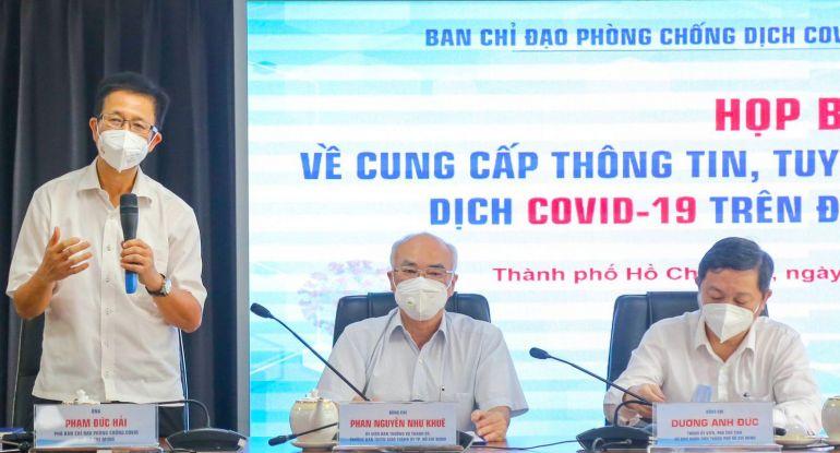 """TP HCM: Từ 23-8, nâng cao biện pháp phòng chống dịch """"ai ở đâu, ở yên đó"""""""