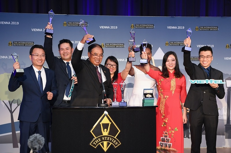 Viettel thắng lớn tại Giải thưởng Kinh doanh quốc tế năm 2019