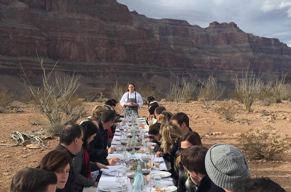 Mô hình nhà hàng pop-up có thể ở bất cứ đâu, kể cả trên sa mạc