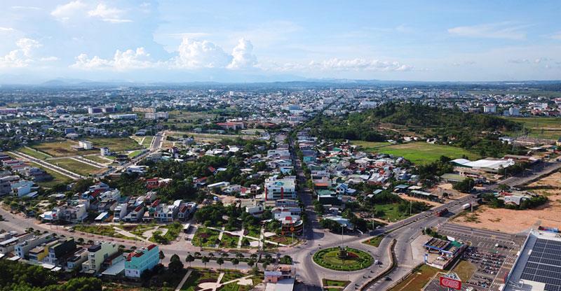 Một góc thành phố Quảng Ngãi, tỉnh Quảng Ngãi