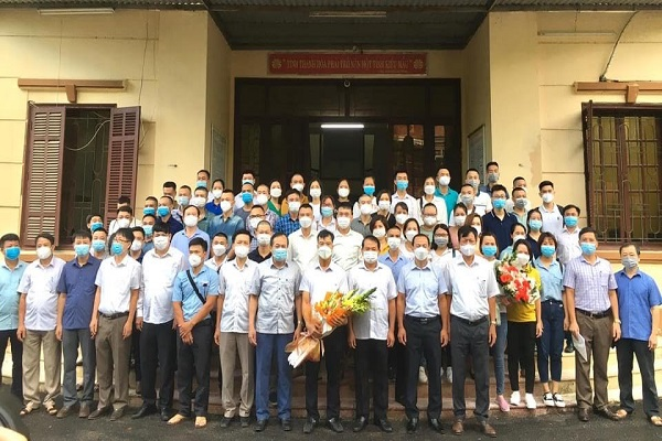 Đoàn cán bộ y tế tỉnh Thanh Hóa lại tiếp tục lên đường chi viện cho miền Nam