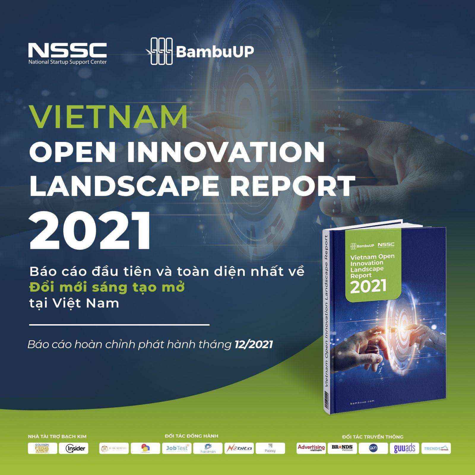 """Dự án Phát hành Báo cáo """"Toàn cảnh Đổi mới sáng tạo mở Việt Nam 2021"""" chính thức diễn ra"""