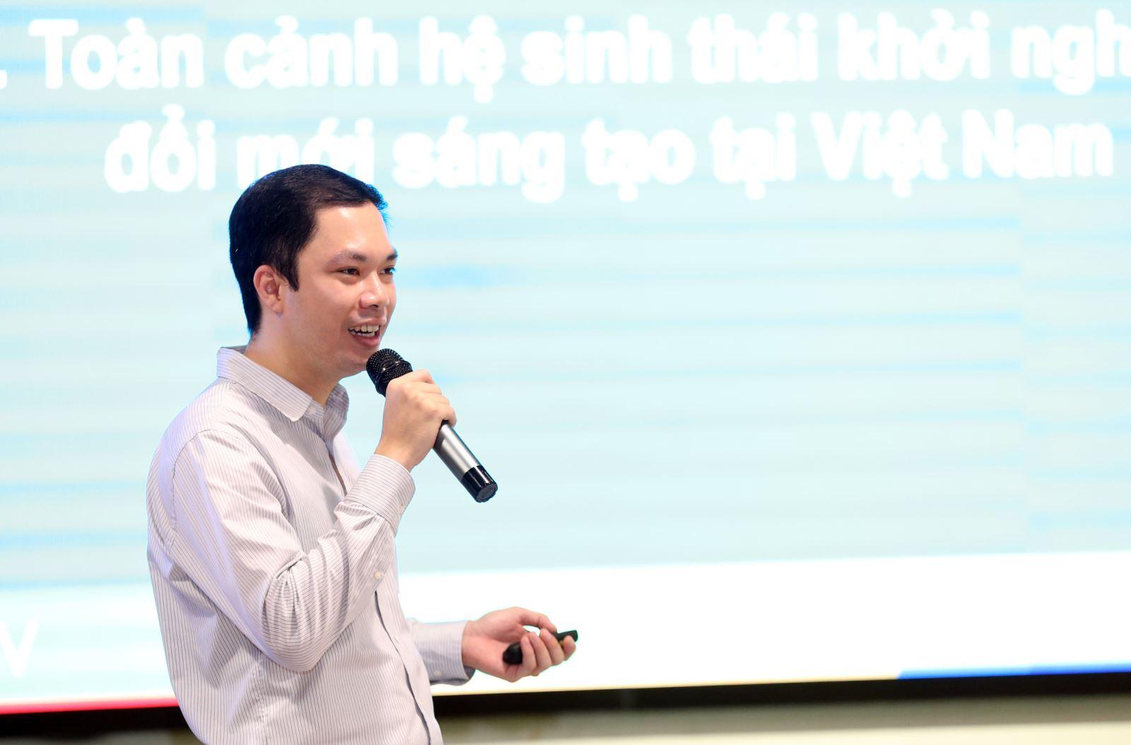 ông Phạm Dũng Nam, Giám đốc Trung tâm Hỗ trợ khởi nghiệp Sáng tạo Quốc gia (NSSC)