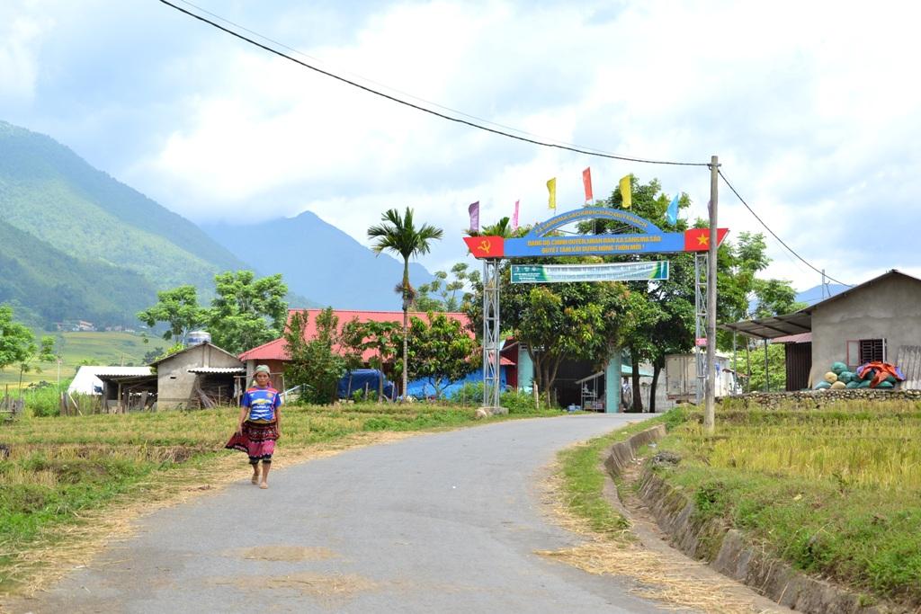 Sức sống nông thôn mới vùng cao Bát Xát- Lào Cai.