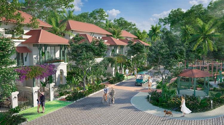 Biệt thự Sun Tropical Village – Dòng wellness second home tiên phong ở Nam Phú Quốc. (Ảnh mang tính minh họa)