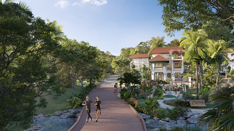 Dự án được đầu tư lớn vào cảnh quan với tổng diện tích cây xanh lên tới 19 nghìn m2. (Ảnh mang tính minh họa)