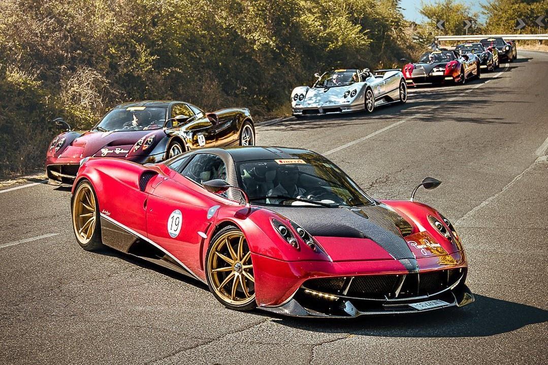 Hành trình triệu USD của những chiếc siêu xe Pagani